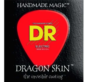 Encordoamento baixo 4 cordas DR strings 045 100 DRAGON SKIN