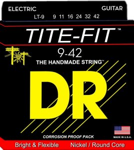 Encordoamento guitarra 09 DR STRINGS - Tite Fit - LT-9