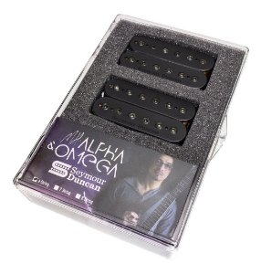 Captador Seymour Duncan Mark Holcomb Alpha Omega - Set Bk 6