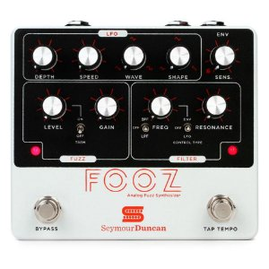 Pedal Seymour Duncan FOOZ Analog Fuzz Synthesizer