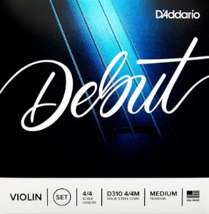 Encordoamento violino 4/4 Daddario Debut D310