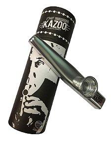 Kazoo profissional prateado metalico