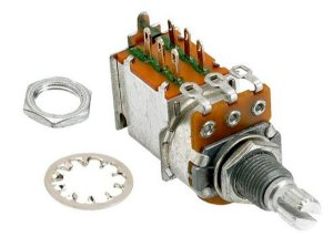 Potenciômetro Push pull Gotoh tipo A500K Log P16w-18 JAPAN