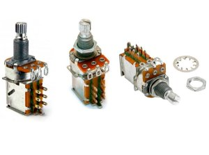 3 Potenciomentro Push Pull Spirit B500K VLpp1 kit com 3