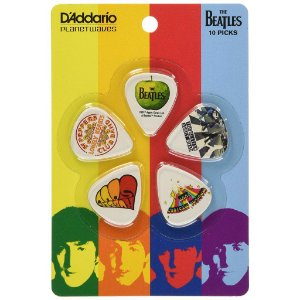 10 palhetas Thin guitarra Beatles serie album 1cwh2 DADDARIO