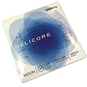 Encordoamento violino Daddario Helicore H310 tensao media