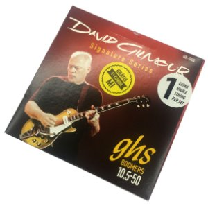 Encordoamento guitarra hibrida 010 050 GHS David Gilmour