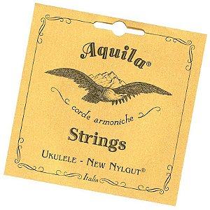 Encordoamento ukulele Aquila 4u soprano new nylgut HIGH G