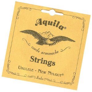 Encordoamento Ukulele Aquila 7u concert new nylgut HIGH G