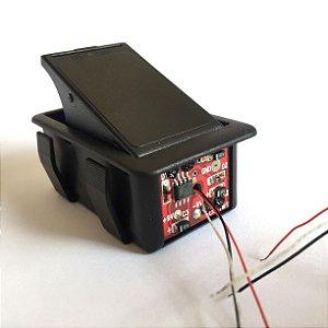 Compartimento caixa 1 bateria 18V ou 9V Spirit FC18