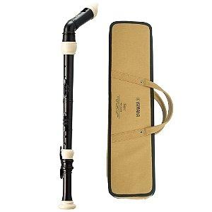 Flauta Baixo Yamaha barroca YRB 302 BII