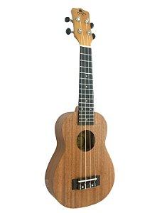Ukulele Marques Soprano Sapele acústico UKS140 madeira fosca