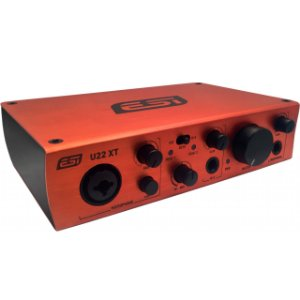 Interface audio USB 2 canais ESI U22 XT 2in 2out