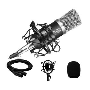 Microfone condensador profissional R1 RAD Homestudio Podcast