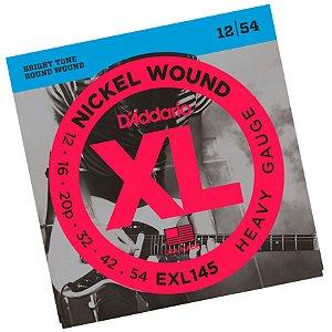 Encordoamento Guitarra 012 Daddario EXL145 Nickel Wound USA