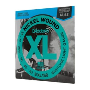 Encordoamento Guitarra 013 Daddario EXL158 Nickel Wound USA