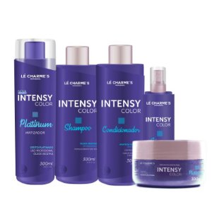 LINHA DE TRATAMENTO INTENSY COLOR + INTENSY PLATINUM 300ml