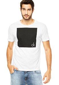 Camiseta Calvin Klein Jeans Urban Black/White