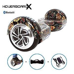 Hoverboard Skate 6,5 Las Vegas Cassino HoverboardX Bluetooth