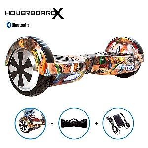 Hoverboard 6,5 Homem Aranha e Inimigos HoverboardX Bluetooth