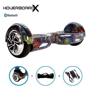 Hoverboard 6,5 Avengers HoverboardX Bluetooth com Bolsa