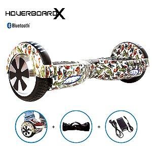 Hoverboard 6,5 Super Heróis Avengers HoverboardX Bluetooth