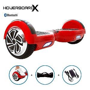 Hoverboard 6,5 Polegadas Vermelho HoverboardX Scooter