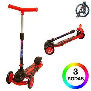 Patinete Infantil de 3 Rodas Vingadores DM Radical