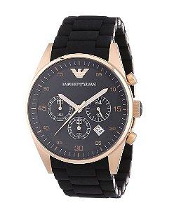 Relógio Unissex Emporio Armani Ar5905 Preto Rose 43mm