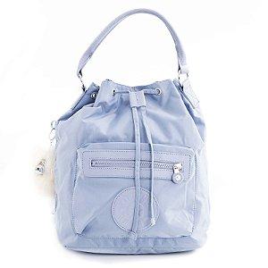 Bolsa Mochila Kipling Shoulder Bag Azul Claro