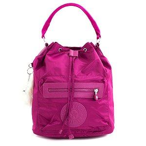 Bolsa Mochila Kipling Shoulder Bag Púrpura