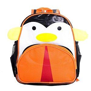 Mochila Infantil Escolar Skip Zoo Hop Bichinhos Pinguim