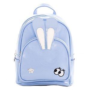 Mochila Infantil Escolar Dawei Cat Coelinho Azul