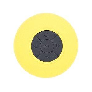 Mini Caixa De Som Bluetooth Prova D'água Speaker Amarelo