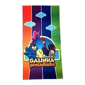 Toalha De Banho Galinha Pintadinha Felpuda Infantil Personagens