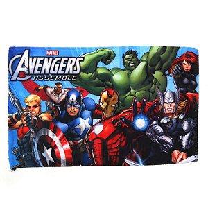 Toalha De Rosto E Mão Os Avengers Felpuda Infantil Personagens