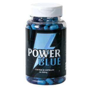 Power Blue Viagra Natural 500mg - 90 Cápsulas