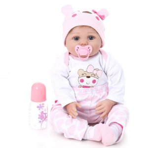 Bebe Reborn Kaydora Boneca Linda Menina Princesa Pijama