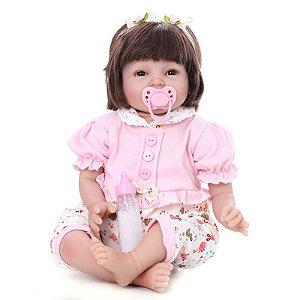 Bebe Reborn Kaydora Boneca Realista