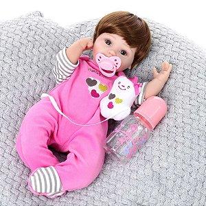 Bebe Reborn Kaydora Boneca Nurse