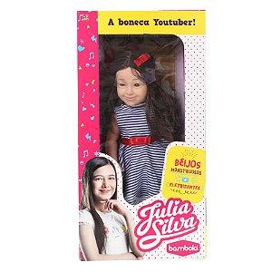 Boneca Julia Silva Youtuber 580 - Bambola