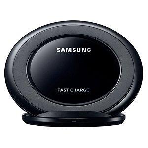 Carregador Samsung Original Wireless Sem Fio Fast Charge Preto S6 S7 S8 S9