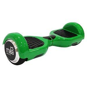 Hoverboard Elétrico Mibo Verde 6. 5' - Smart Balance - Led e Bluetooth