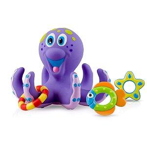 Brinquedo Polvo Maluco para Bebê Nuby Hora do Banho