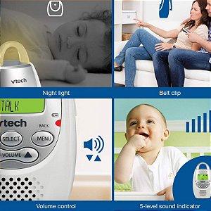 Babá Eletrônica Monitor de Audio para Bebê Baby Vtech DM221