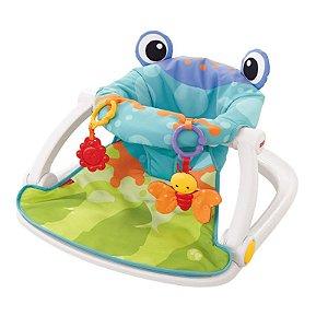 Cadeira de Assento para Bebê Froggy Fisher-Price C/ Assento Removível
