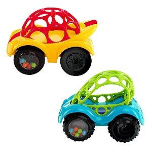 Brinquedo Educativo Carrinho para Bebê Obal Rattle & Roll