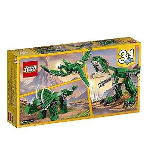 31058 - Lego Kit de Construção 3 em 1 Creator Dinossauros Poderosos