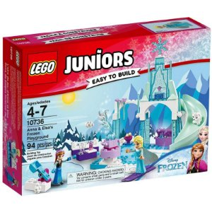 10736 - Lego Juniors O Pátio de Recreio Gelado de Anna e Elsa