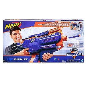 Lançador de Dardos Infinus Nerf N-Strike Elite Blaster Speed-Load com 30 Dardos